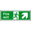 Plastic Fire Exit Sign