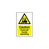 Plastic Hazard Signs